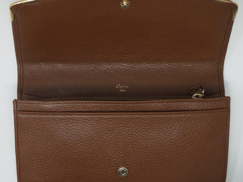 a15a4d3b449e カルティエ(Cartier)財布|クリーニング事例