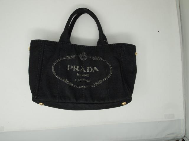 プラダ(PRADA)キャンバストートバッグ  クリーニング後