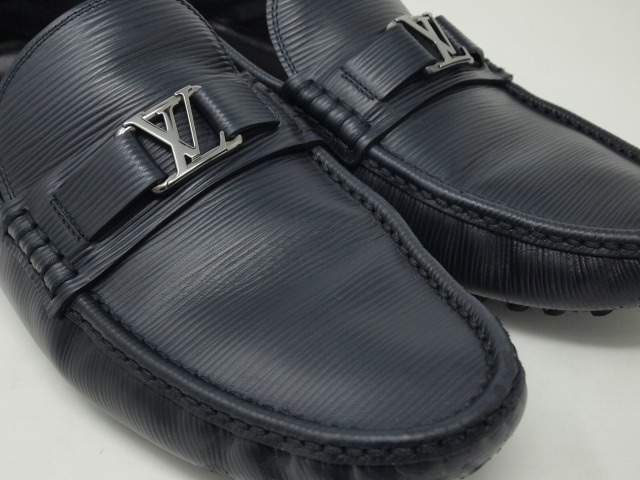 Louis Vuittonレザースリッポン クリーニング後
