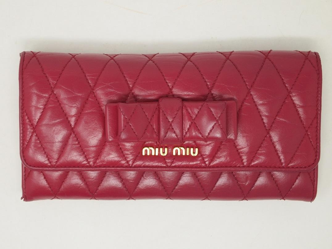 MIUMIU財布 クリーニング後