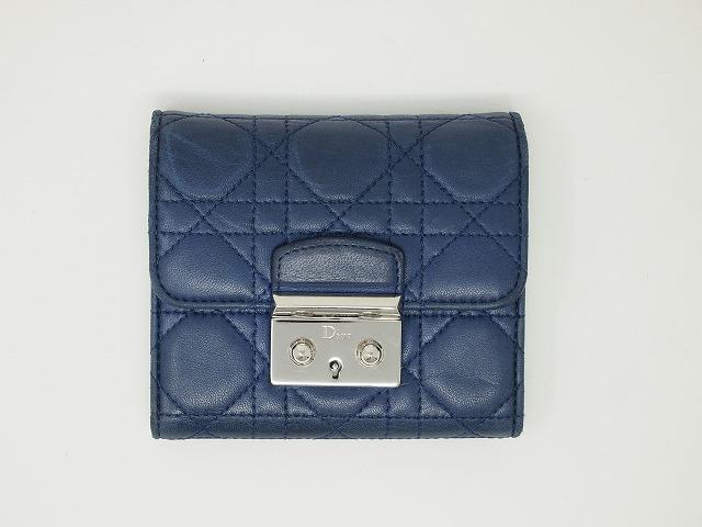 ディオール(Dior)財布 クリーニング前