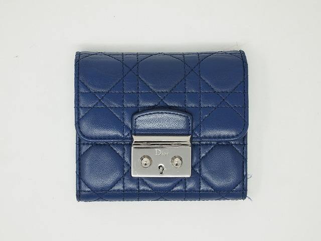 ディオール(Dior)財布 クリーニング後