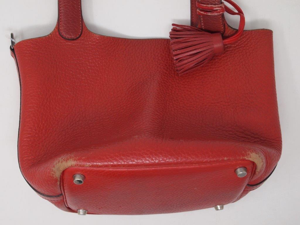 エルメスのバッグ「ピコタン」クリーニング前