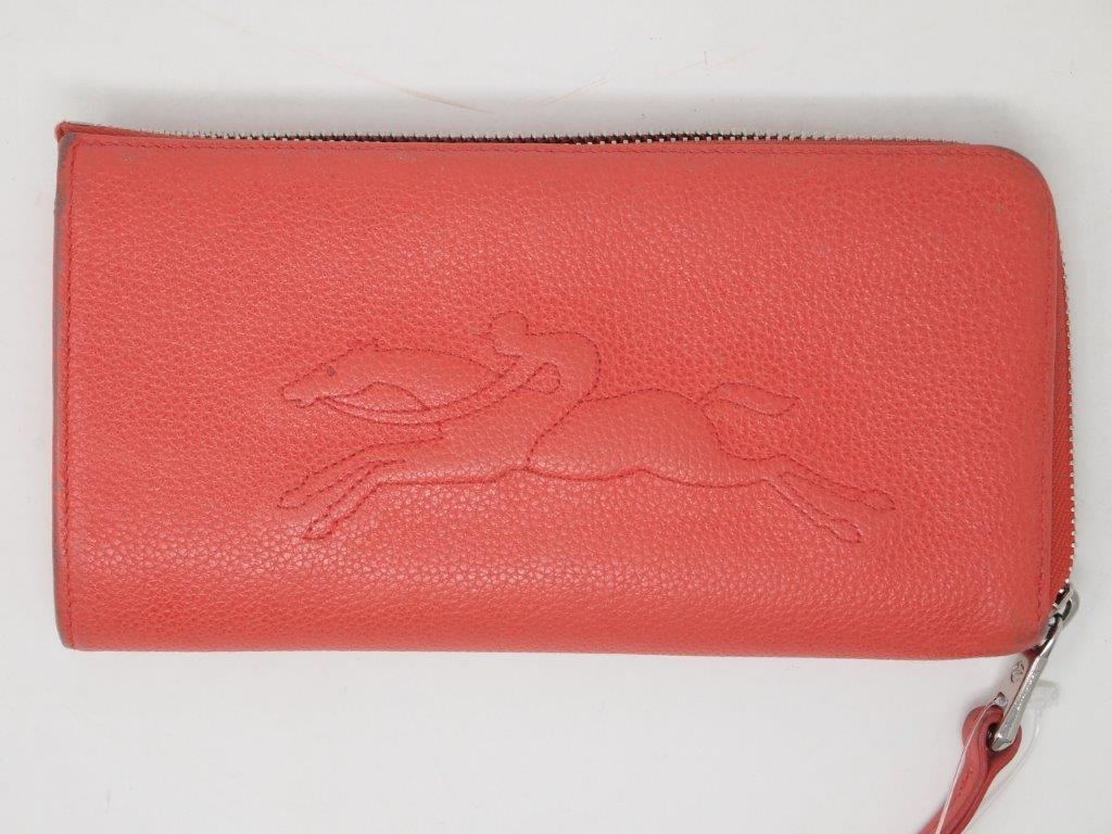 ロンシャン(LONGCHAMP)財布|クリーニング・修理前