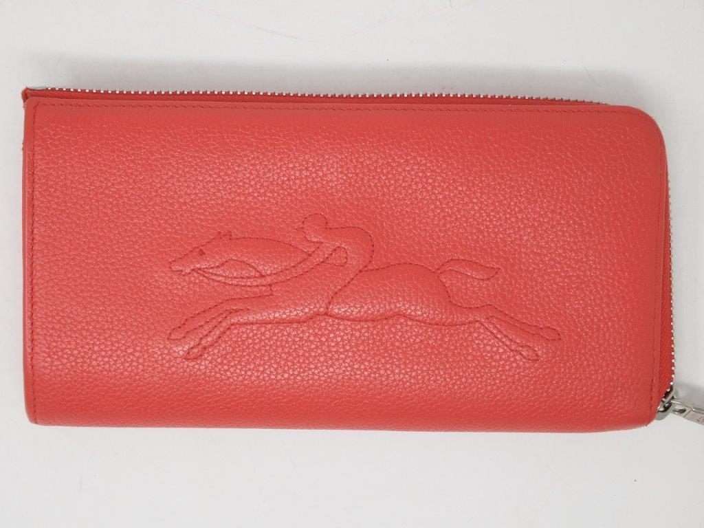 ロンシャン(LONGCHAMP)財布|クリーニング・修理後